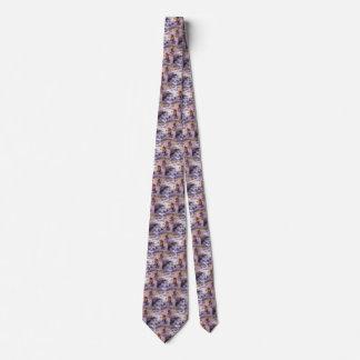 Cravates Cowboy vintage, filtrant l'or, le Wyoming par