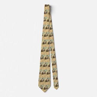 Cravates Cowboys occidentaux vintages, Hopalong par OR