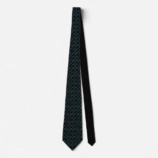 """Cravates """"Cravate noire de Matrix"""" avec la conception"""