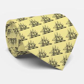 Cravates Crête nautique vintage héraldique de bateau de