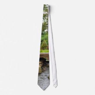 Cravates Crique paisible de ressort
