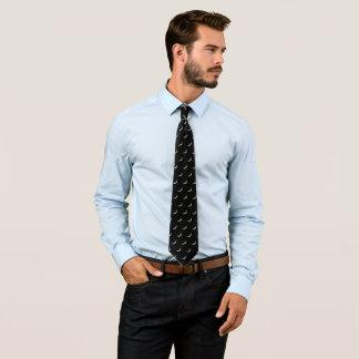Cravates Croissant de lune maigre carrelé
