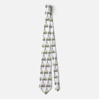 Cravates Cuvette de poinçon vintage d'arbre de Noël avec le