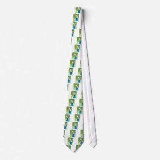 Cravates Danseuse du ventre dans le bleu