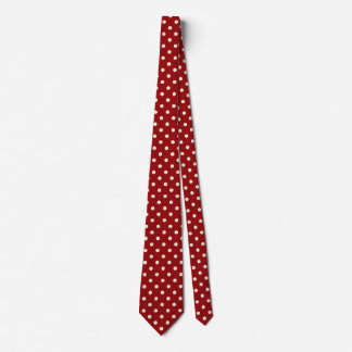 Cravates de point de polka pour les hommes