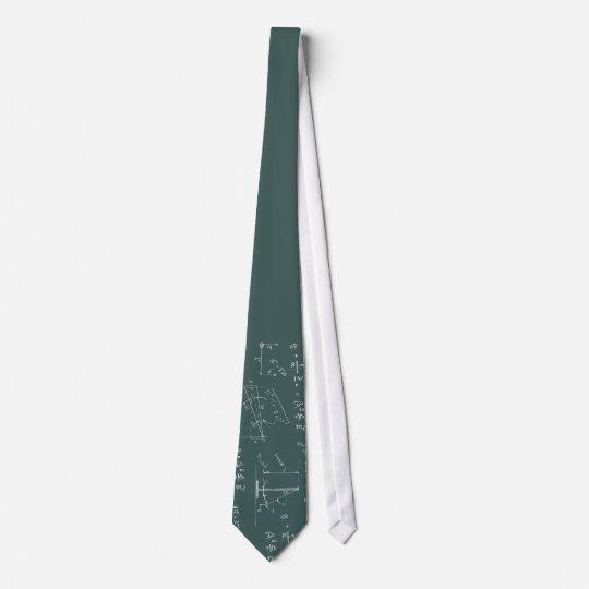 Cravates Diagrammes et formules de physique