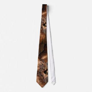 Cravates Dingue en bois d'oiseaux aquatiques de pays