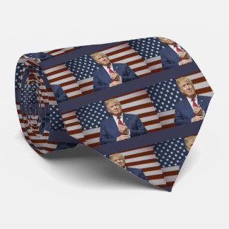 Cravates Drapeau de Donald Trump