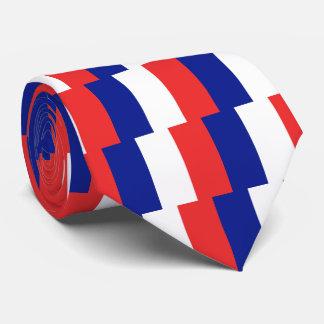 Cravates Drapeau de Français Tricolore de la France