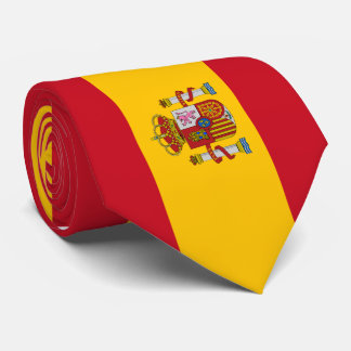 Cravates Drapeau de l'Espagne