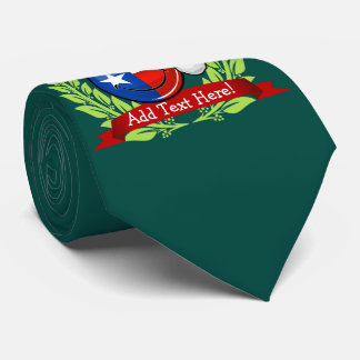 Cravates Drapeau de sourire du Texas de style de Noël