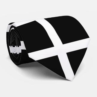 Cravates Drapeau de St Piran/drapeau des Cornouailles