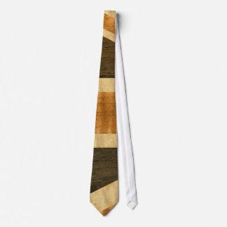 Cravates Drapeau en bois d'Union Jack R-U