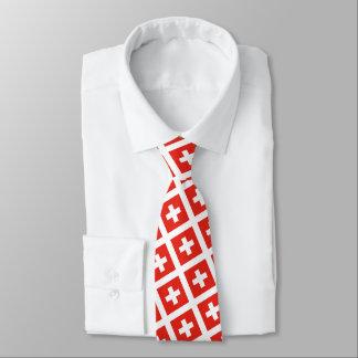 Cravates Drapeau suisse