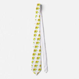 Cravates éléphant, floral, drôle