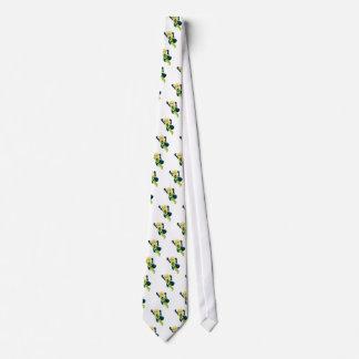Cravates Fille verte de super héros