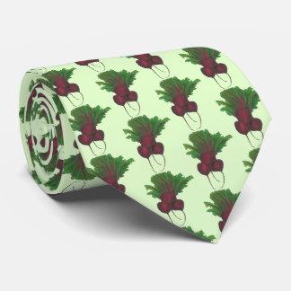 Cravates Fin gourmet végétalien végétal de betterave à
