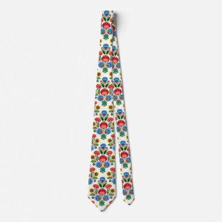 Cravates Fleurs folkloriques polonaises