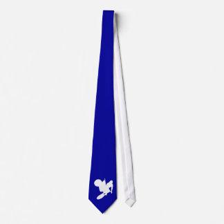 Cravates Fouet bleu de motocross