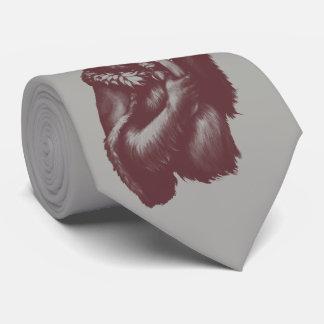 Cravates Grand Chimpin (monochrome)