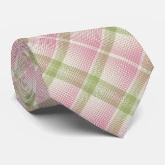 Cravates HAMbyWG - l'os/rose de lien/pâlissent - Diag vert.