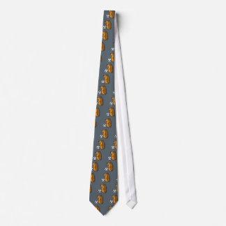 Cravates Hérisson drôle jouant la bande dessinée du