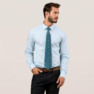 Cravates Hippie tiré par la main turquoise artistique frais