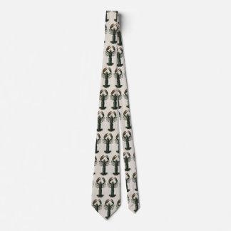 Cravates Homard vintage, crustacé marin de la vie d'océan