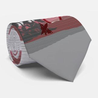 Cravates Île hawaïenne de grand coucher du soleil à simple