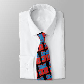 Cravates Je suis dans 3D (aucun verre exigé)