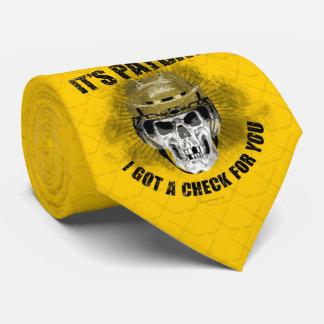 Cravates Jour de paie d'hockey