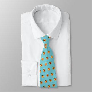 """Cravates """"Juste"""" pêche couleur pêche (bleu d'oeufs de"""