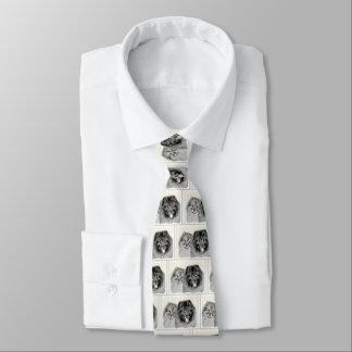 Cravates Keeshonds