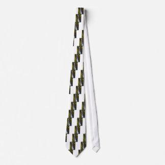 Cravates La crique inférieure de butte tombe dans l'automne