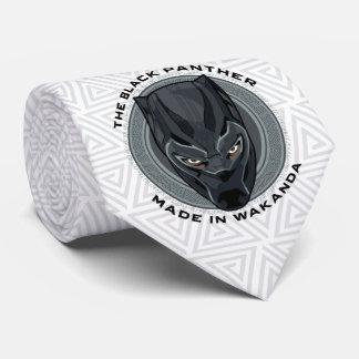 Cravates La panthère noire | a fait dans Wakanda