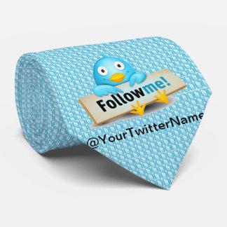 Cravates La personnaliser avec votre nom de gazouillement