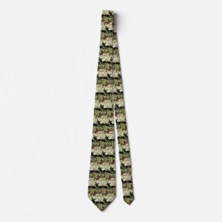 Cravates La peste par Arnold Bocklin, symbolisme vintage