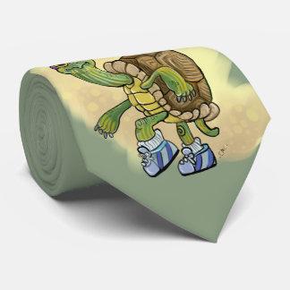 Cravates La tortue jeûnent