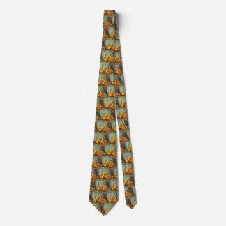 Cravates La vie toujours avec des poires de coing par