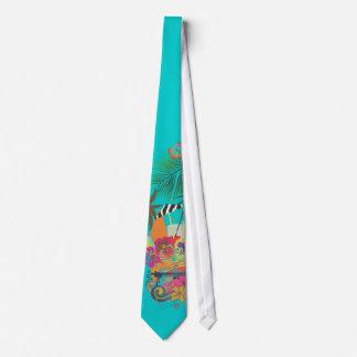 Cravates L'AMI Tai, Luau de PixDezines à la couleur de la