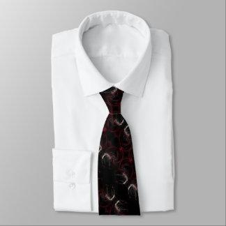 Cravates L'art abstrait de vampire foncé de cadeau