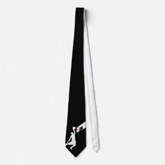 Cravates Le claquement trempent le joueur de basket -
