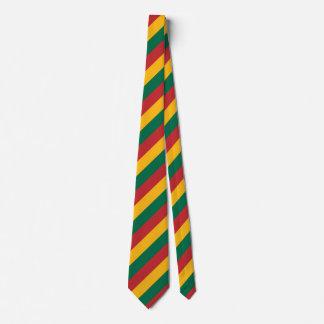 Cravates Le drapeau de la Lithuanie a inspiré le motif