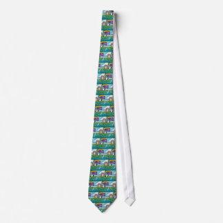 Cravates Le hibou et le minou