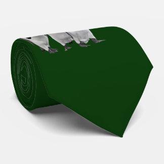 Cravates Les trois Rois Tie Double Sided (vert-foncé)