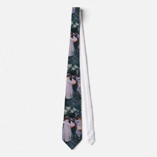 Cravates L'oeillet, lis, lis, s'est levé par John Singer