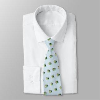 """Cravates Lutins"""" St Patrick """"de vol (gris-clair)"""