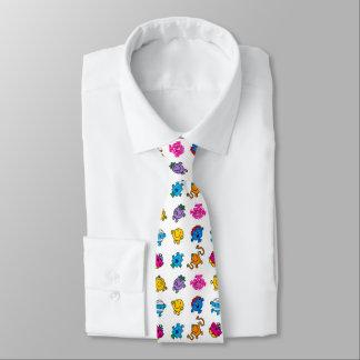 Cravates M. Men et petit motif au néon de danse de la Mlle
