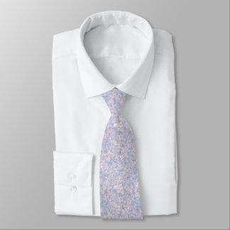 Cravates Maïs éclaté rose-clair et bleu 4647