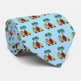 Cravates Manteau de couleur de palmier de chameau des bras